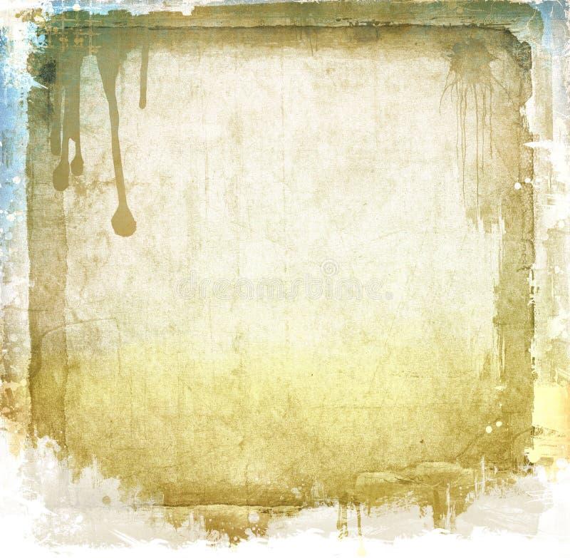 Sepia van Grunge achtergrond stock foto