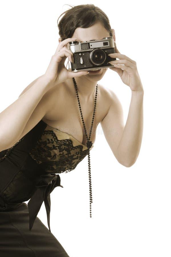 Sepiafotographie stockfotografie