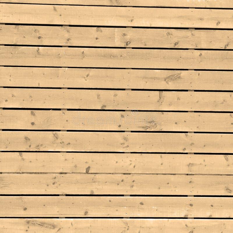 Sepiawand im altem Baunagel und -haus stockbild