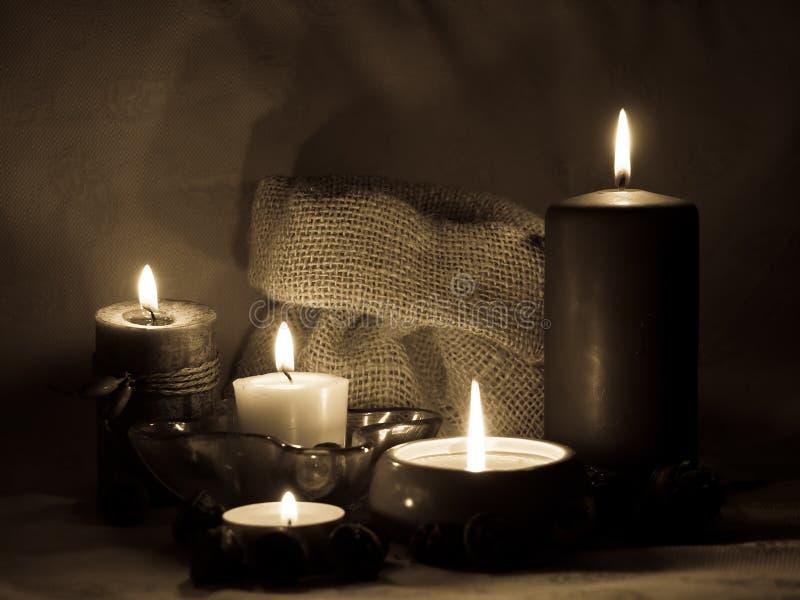 Sepiowe aromatyczne świeczki