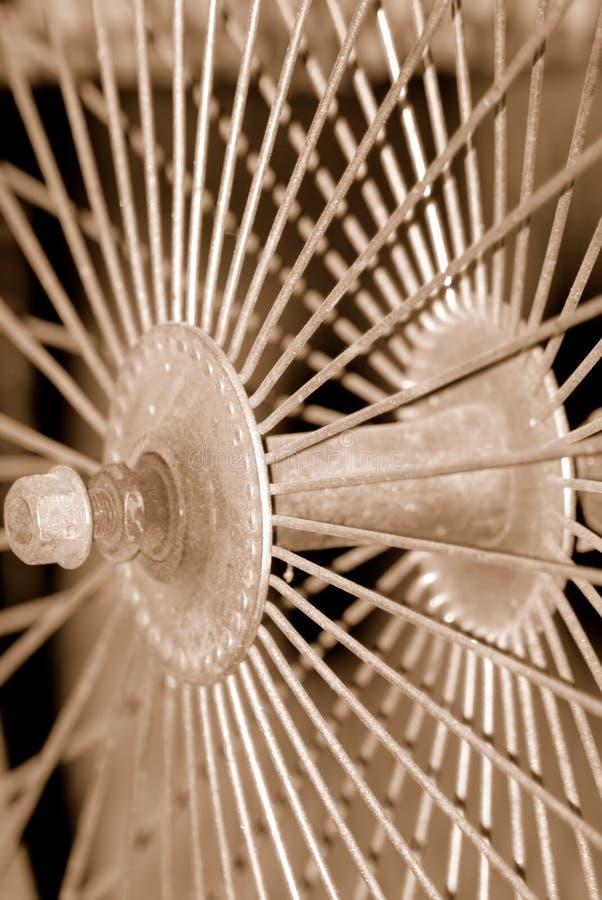 sepiowe szprychy zdjęcie royalty free