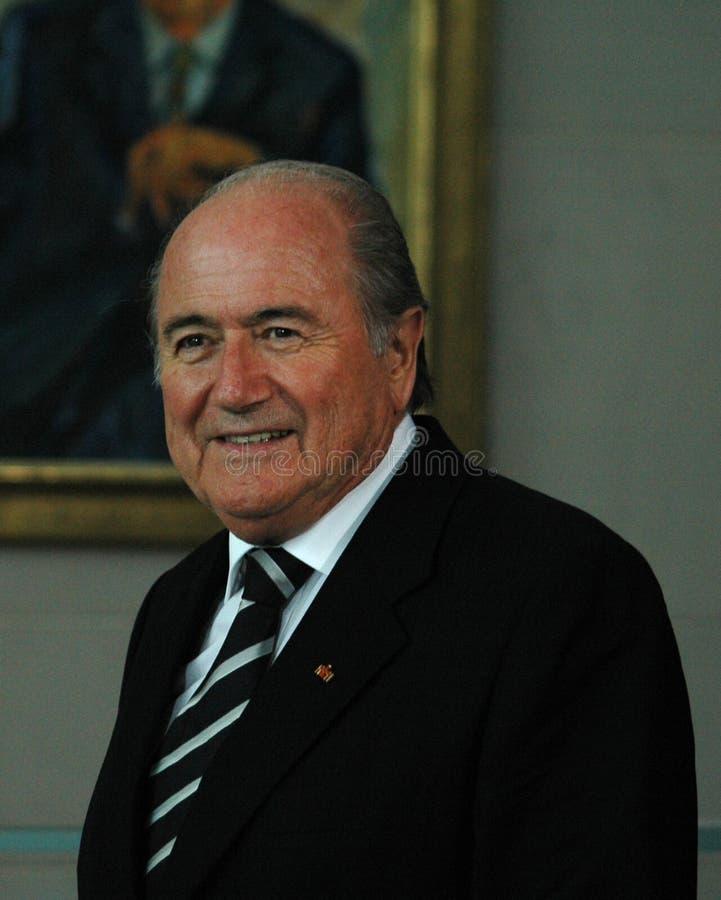 Sepp Blatter images stock