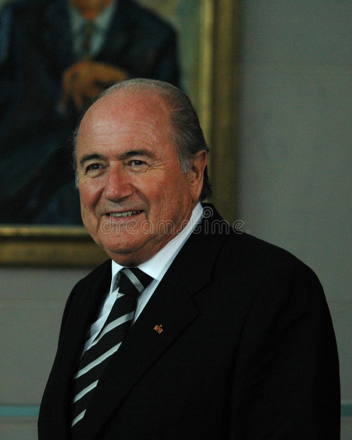 Sepp Blatter stock afbeeldingen