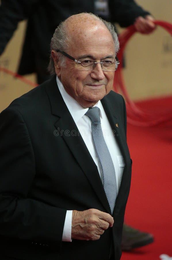 Sepp Blatter photographie stock libre de droits