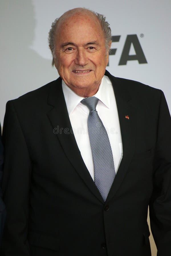 Sepp Blatter stock fotografie