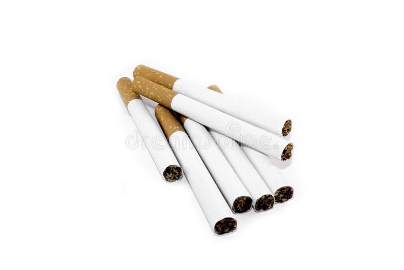 Sept cigarettes photographie stock libre de droits