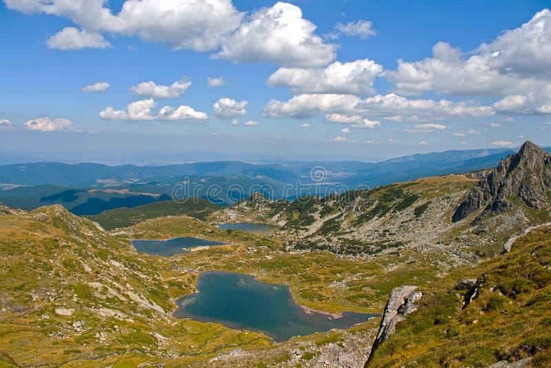 Sept lacs Rila photographie stock libre de droits