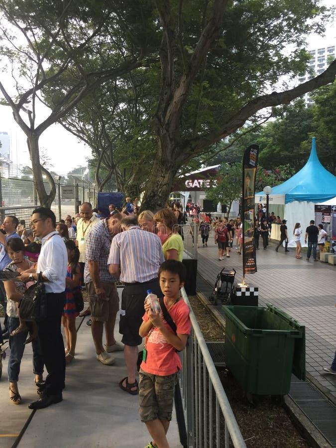Sept. 18 Singapur-Grandprix 2015 2015 lizenzfreie stockbilder