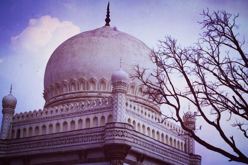 Sept tombeaux photo libre de droits