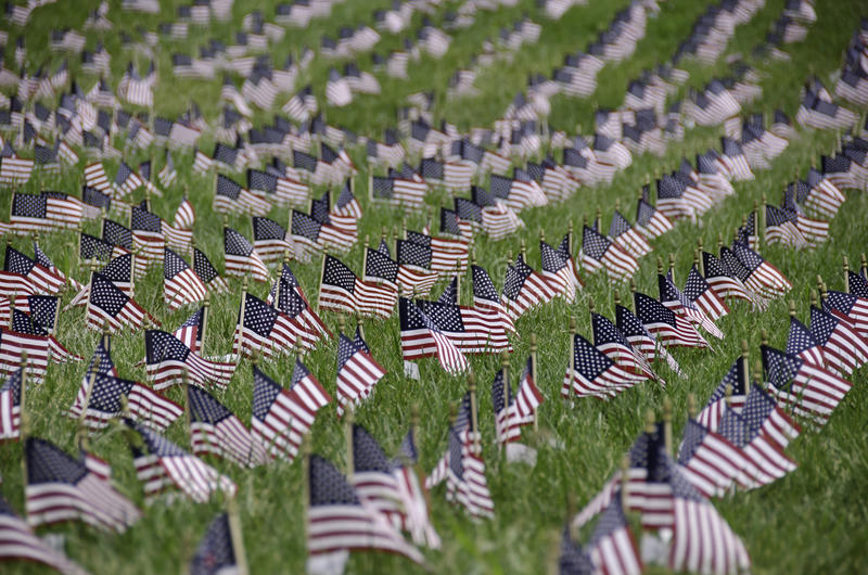 September 11 memorial, USA royalty free stock photography