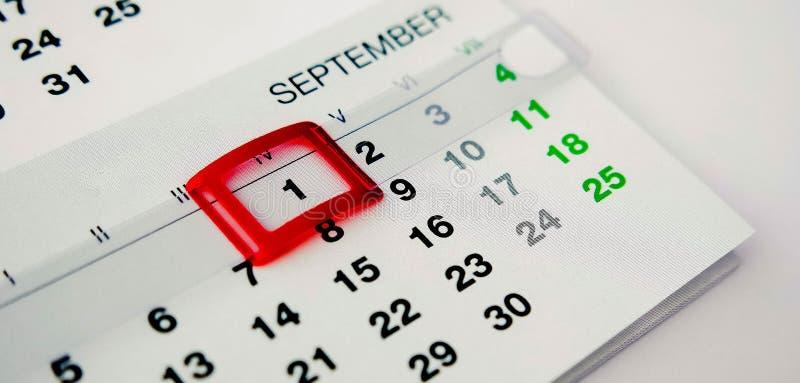 1. September stockfotos