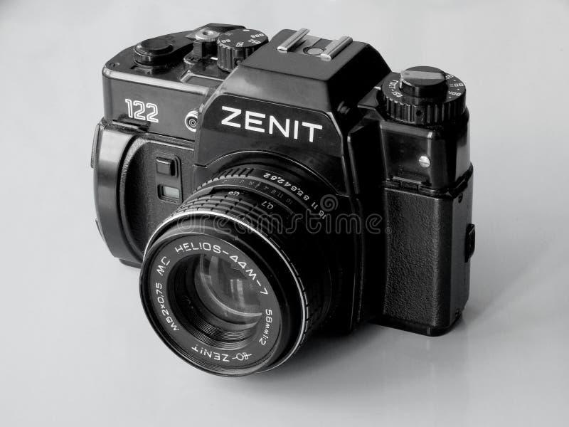 September, 22, 2017 Arzamas, alter Kamera Russlands Zenit stockfoto