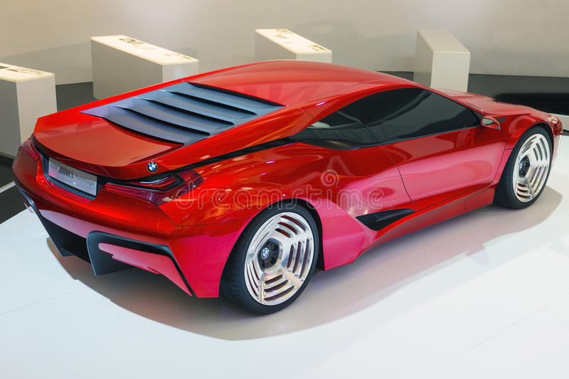September 2014: BMW M1 Hommage royalty free stock images