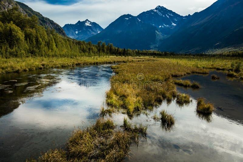 3. September 2016 - Chugach-Nationalpark, außerhalb des Anchorages Alaska stockbild
