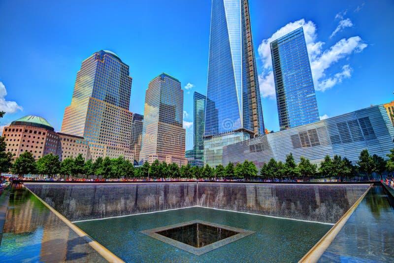 11. September Denkmal lizenzfreie stockfotografie