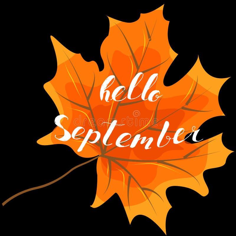 September Hello, Hand Lettering, Quotes Modern Motivation