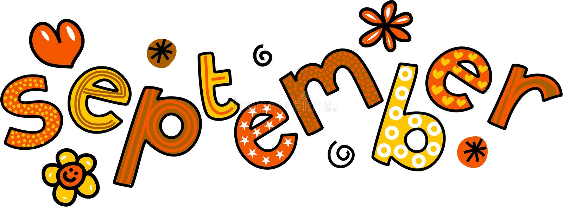 September-Klemart. royalty-vrije illustratie