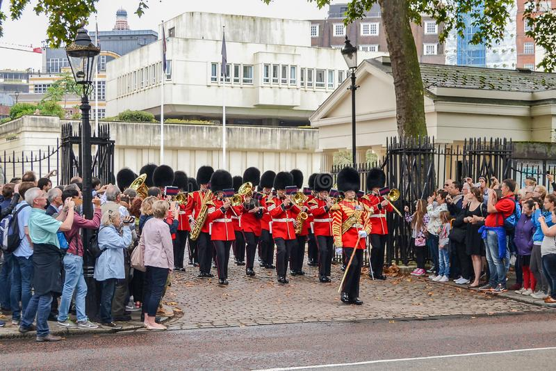 September 20, 2014, London, Great Britain, The Military Band of stock photography