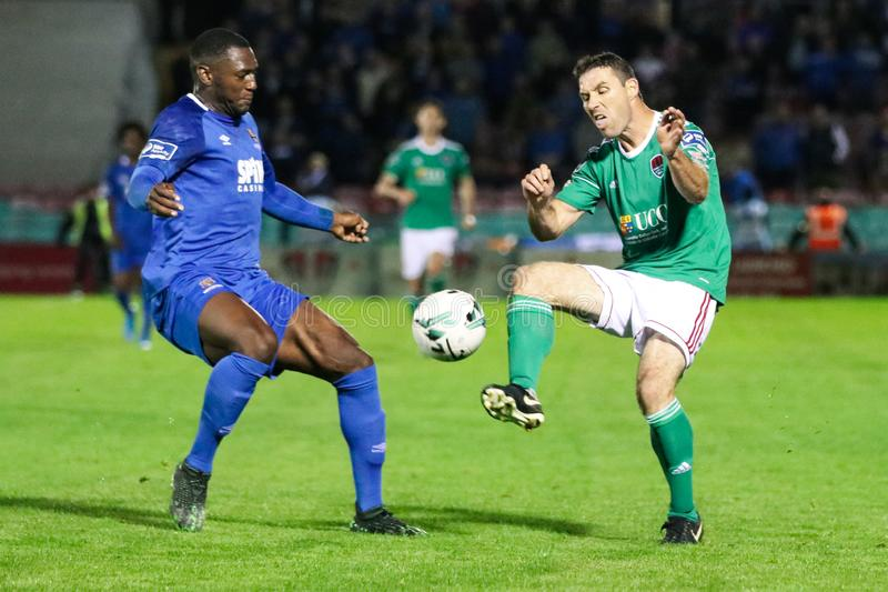 Maxim Kouogun at the League of Ireland Premier Division match: Cork City FC vs Waterford FC. September 2nd, 2019, Cork, Ireland - Maxim Kouogun at the League of stock photos