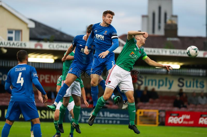 Rory Feely at the League of Ireland Premier Division match: Cork City FC vs Waterford FC. September 2nd, 2019, Cork, Ireland - Rory Feely at the League of stock images
