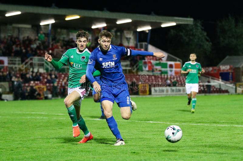 Rory Feely at the League of Ireland Premier Division match: Cork City FC vs Waterford FC. September 2nd, 2019, Cork, Ireland - Rory Feely at the League of stock photos