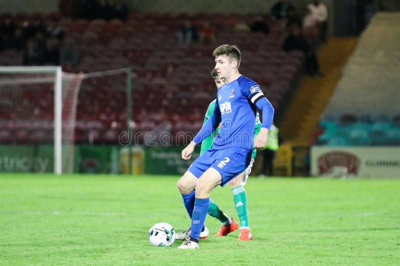 Rory Feely at the League of Ireland Premier Division match: Cork City FC vs Waterford FC. September 2nd, 2019, Cork, Ireland - Rory Feely at the League of stock image