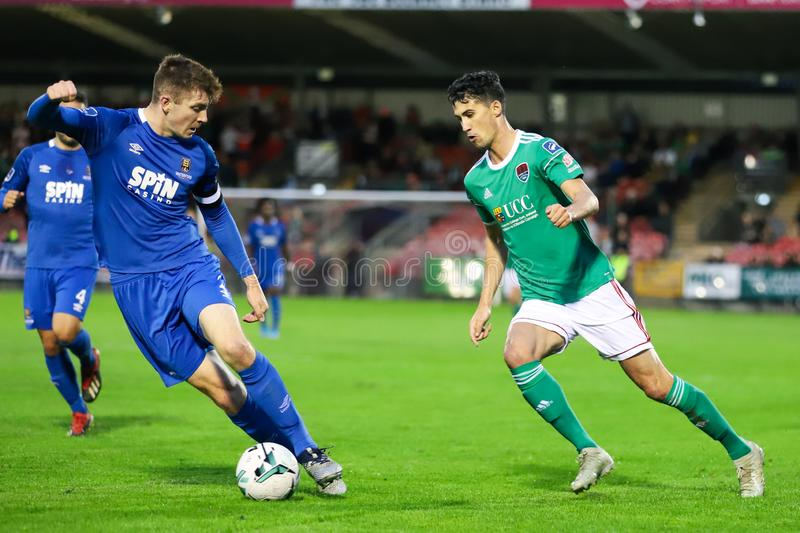 Shane Griffin at the League of Ireland Premier Division match: Cork City FC vs Waterford FC. September 2nd, 2019, Cork, Ireland - Shane Griffin at the League of stock image