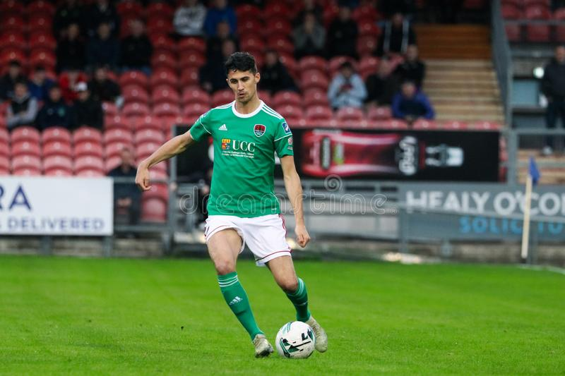 Shane Griffin at the League of Ireland Premier Division match: Cork City FC vs Waterford FC. September 2nd, 2019, Cork, Ireland - Shane Griffin at the League of stock photo