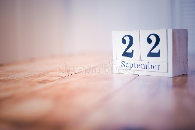 22 September - 22nd of September - Happy Birthday - National Day - Anniversary stock images