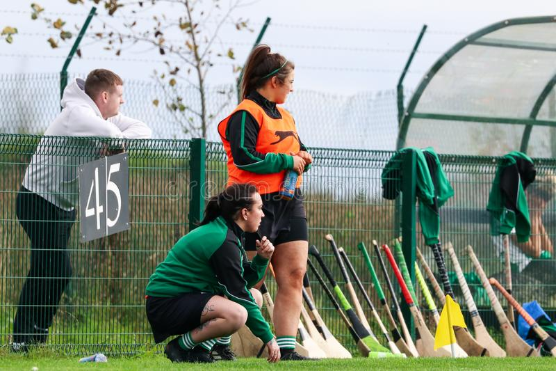 SE Systems Cork Camogie Junior A Championship Semi Final: Ballyhea vs St. Vincents stock images