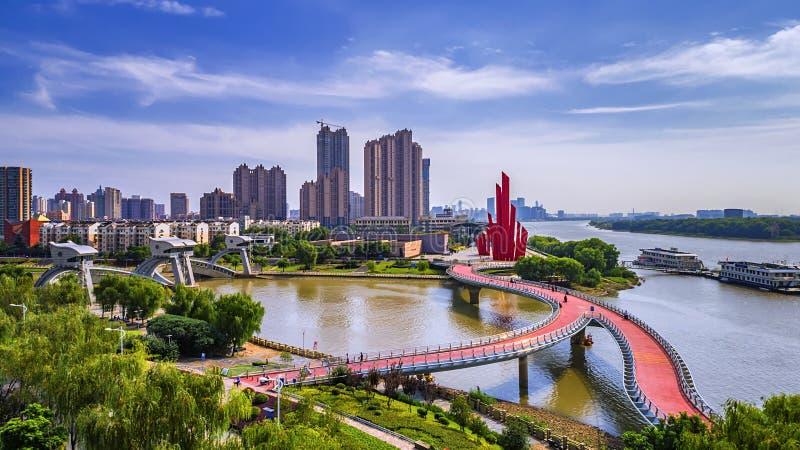 Aerial photography - Rainbow Bridge royalty free stock image