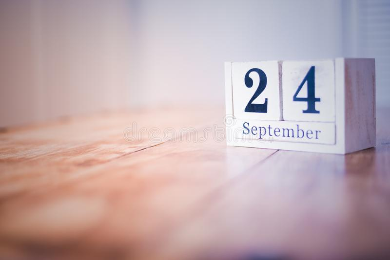 24 September - 24th of September - Happy Birthday - National Day - Anniversary royalty free stock images