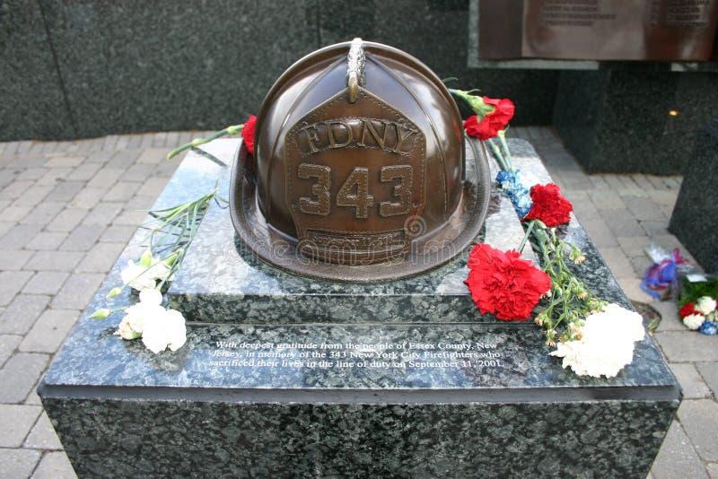 September 11th Memorial, West Orange, New Jersey, USA stock photo