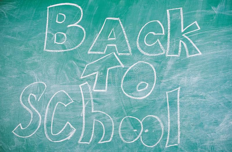 September time to back to studying and getting education. Back to school it is never late to study. Chalkboard with. September time to back to studying and royalty free stock photos