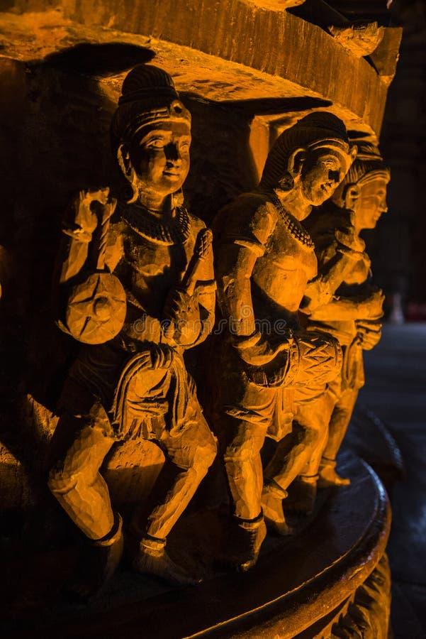 14 septembre 2014 Le temple vrai est un completel unique de temple photographie stock