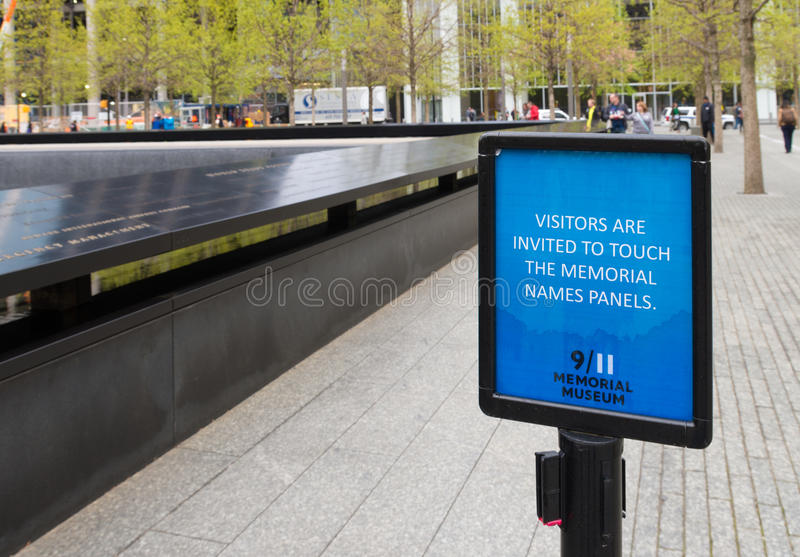11 septembre mémorial images stock