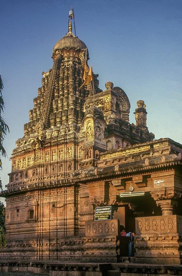 18 septembre 2006 - MAHARASHTRA INDE d'Ellora Aurangabad de temple-Verul de Jyotirling Ghrneshwar Jyotirlinga photos stock