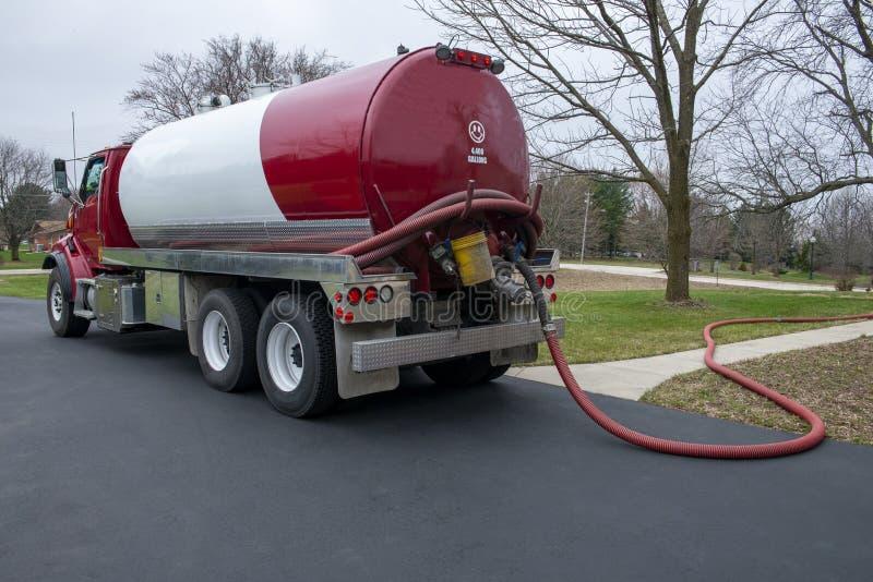 Septic Tank Pump, Pumping, Trunk, Pumper stock images