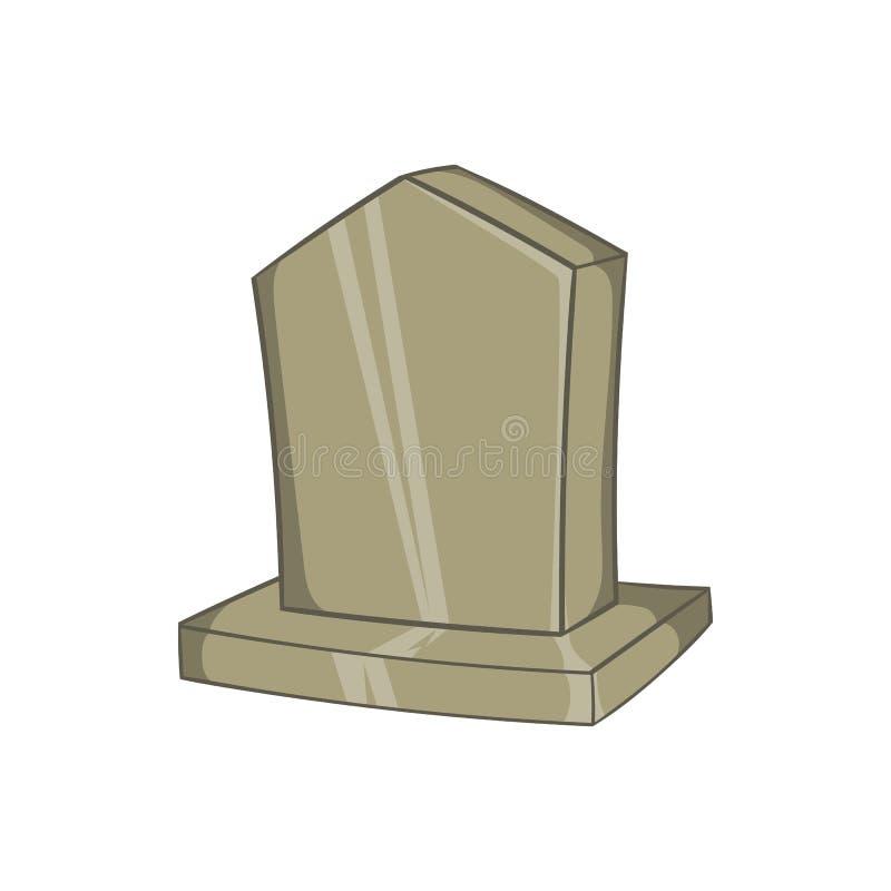 Sepulchral значок памятника, стиль шаржа бесплатная иллюстрация