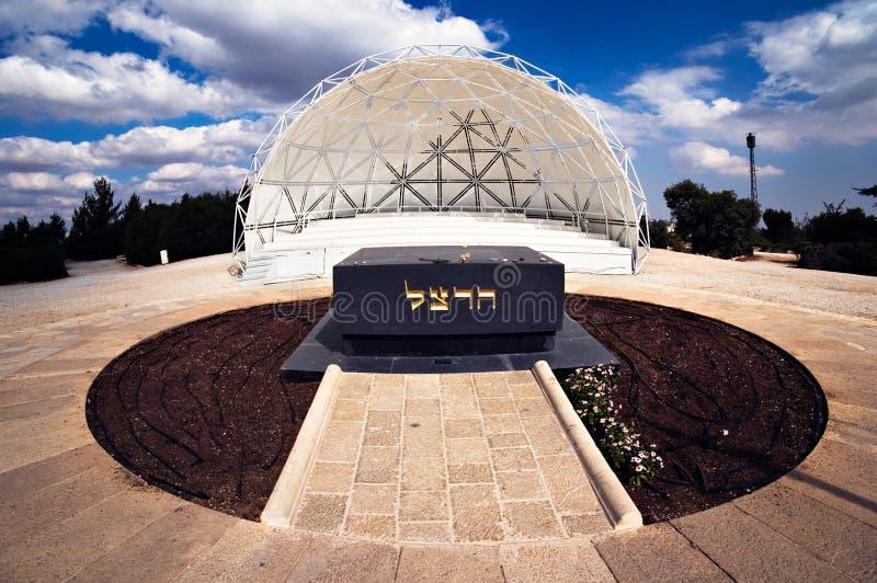 Sepulcro de Theodor Herzl, el fundador del movimiento sionista fotografía de archivo libre de regalías