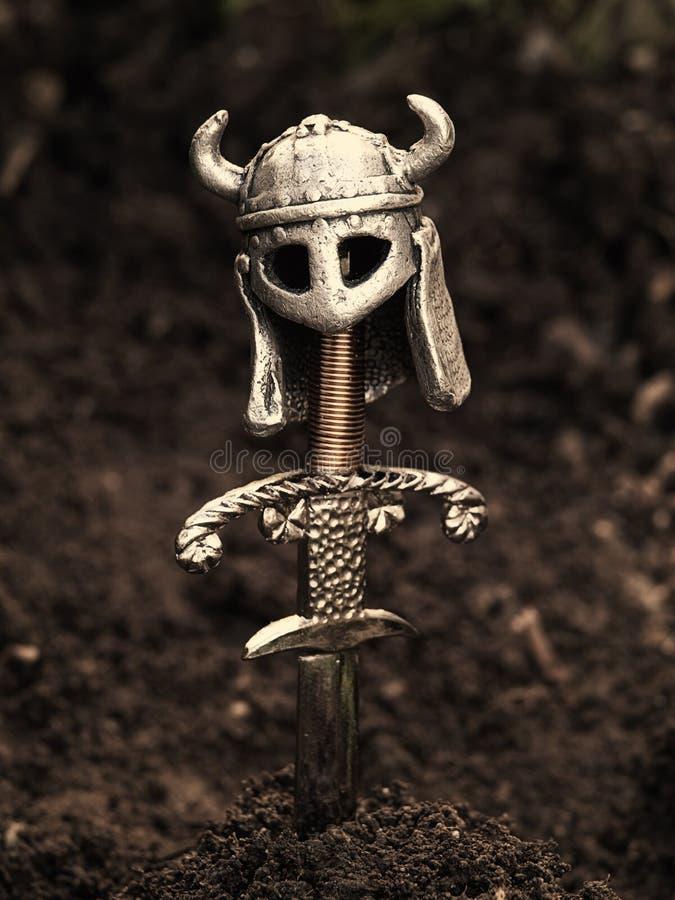 Sepulcro de Vikingo imagen de archivo libre de regalías