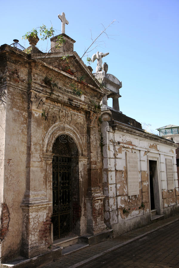 Sepulcro del cementerio de Buenos Aires imágenes de archivo libres de regalías