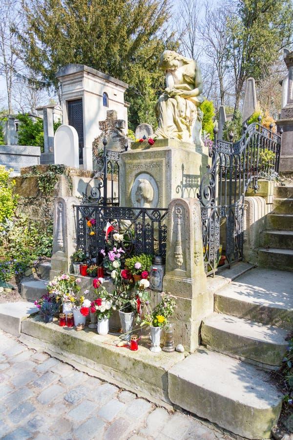 Sepultura de Frederic Chopin fotos de stock