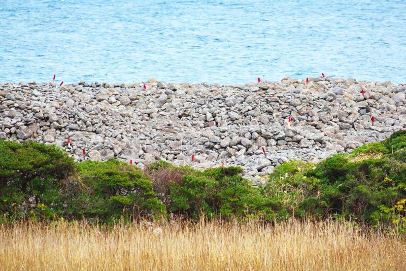Sepultura de pedra velha do monte de pedras foto de stock royalty free