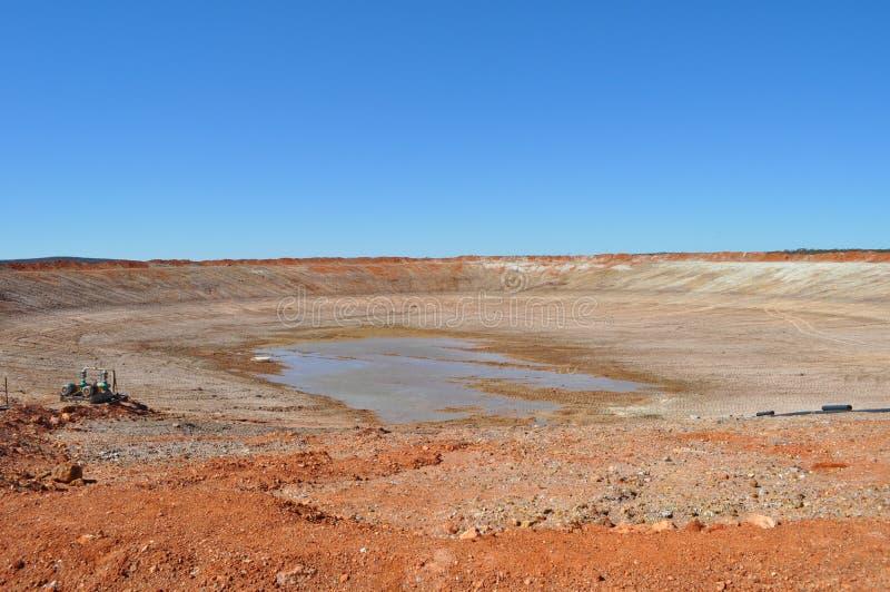 Sequía vacía de la presa ninguna agua fotografía de archivo libre de regalías
