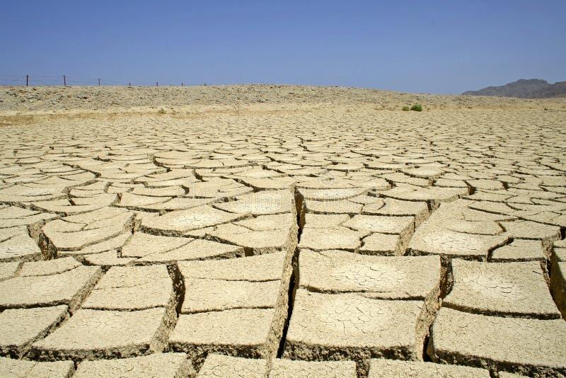Seque el desierto en la región del Mar Rojo imagenes de archivo