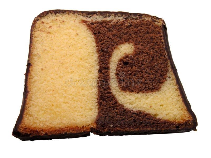 Seque el pedazo de la torta fotos de archivo