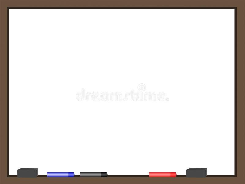 Seque a placa do Erase ilustração do vetor