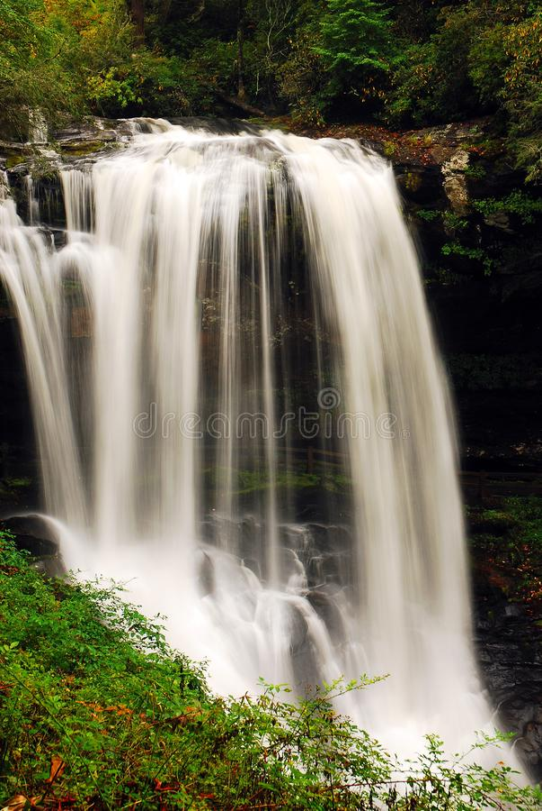 Seque quedas, floresta nacional de Nantahala, North Carolina fotos de stock royalty free