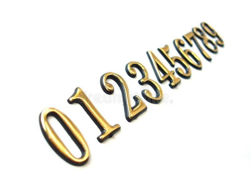 Download Sequenza dei numeri immagine stock. Immagine di icona, metallico - 216309